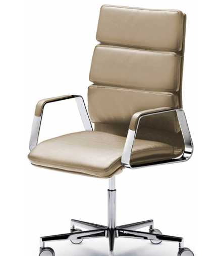 ONNA M ARMCHAIR IN TECH LEATHER