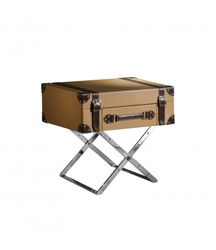 CROS SUITCASE SIDE TABLE